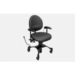 Vela Tango 200 EL – Arbejdsstol med elektrisk højdejustering – former sig efter brugeren