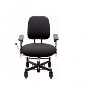 Vela Tango 300 El – Arbejdsstol med elektrisk højdejustering – robust arbejdsstol